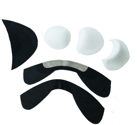 Shoulder Pad / Sleeve Heading