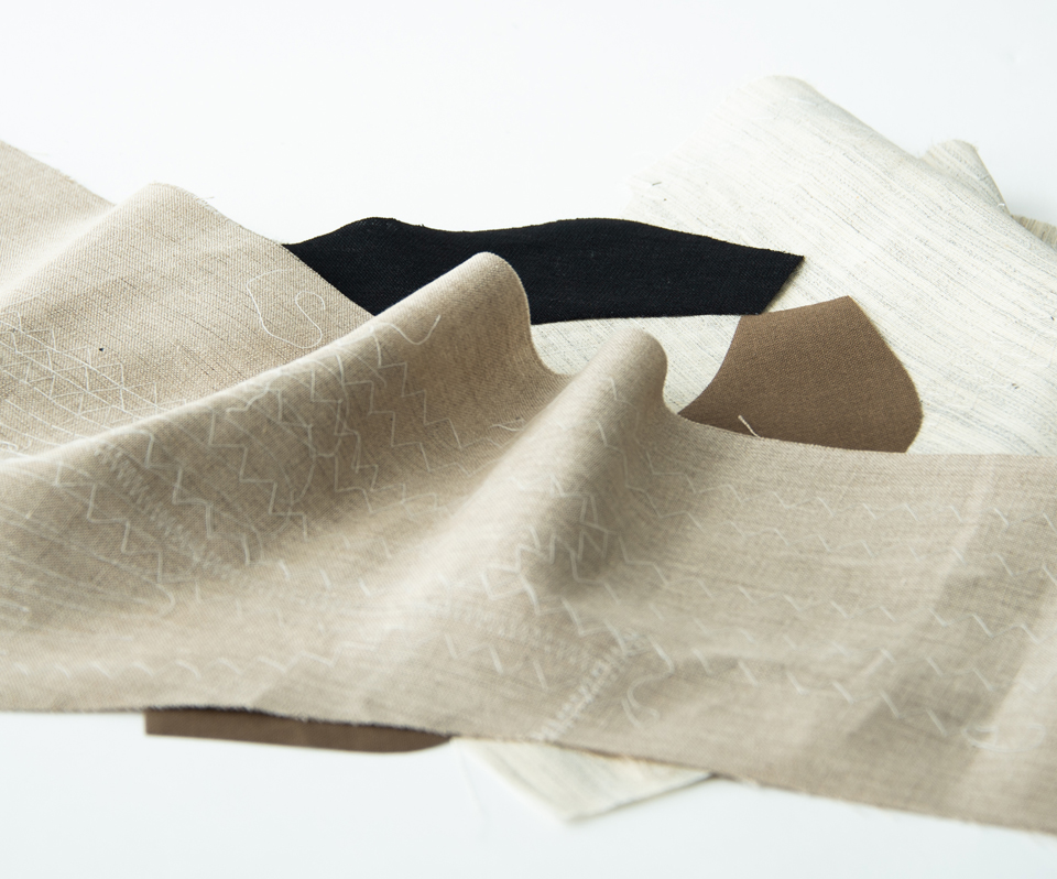 Shoulder pads・Sleeve Headings / Non-Woven Fabrics・Fusible Interlinings・Collar Interfacings / Hair Cloth Interlinings