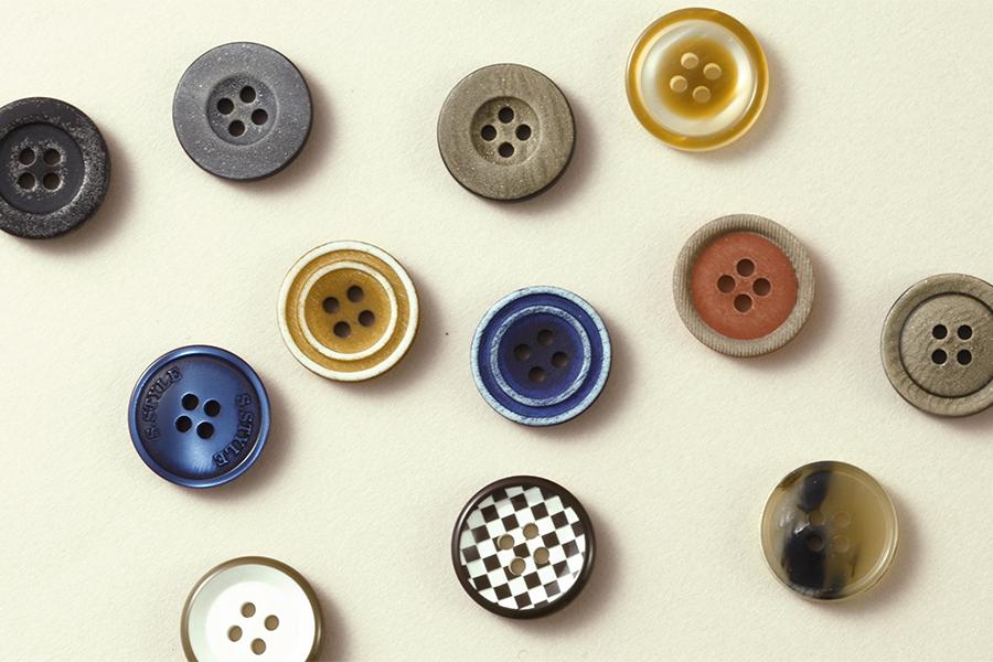 島田商事のオリジナルボタン